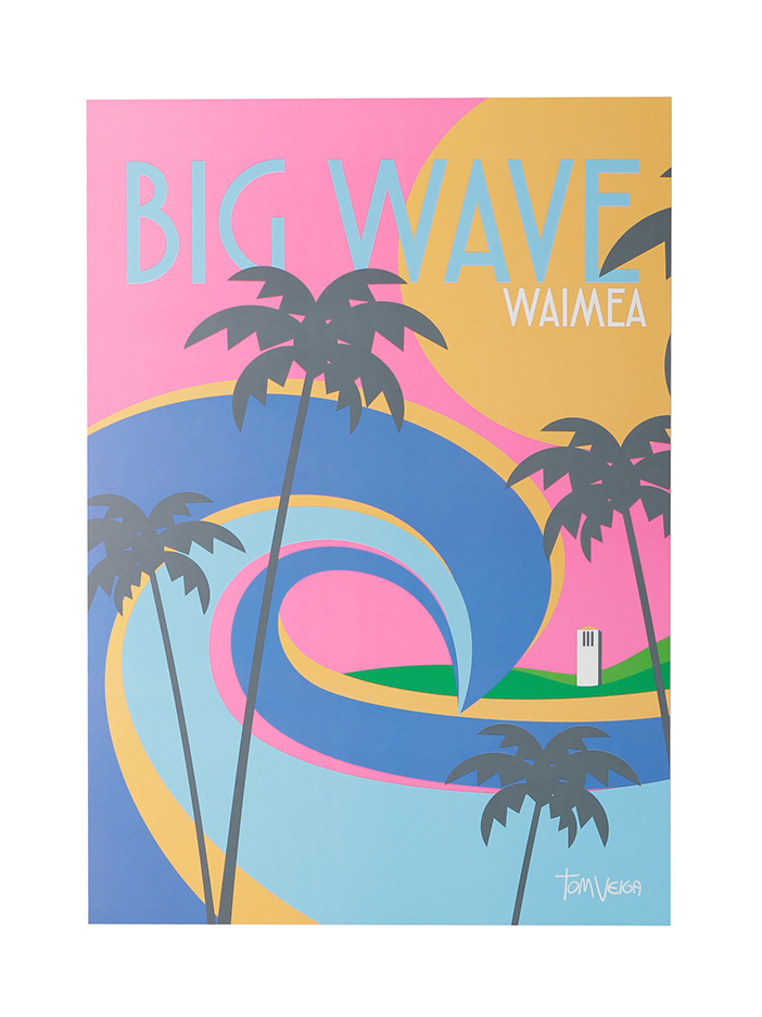 BIG WAVE WAIMEA
