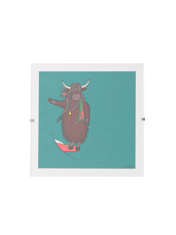 Alphabet Animal Print/Yak
