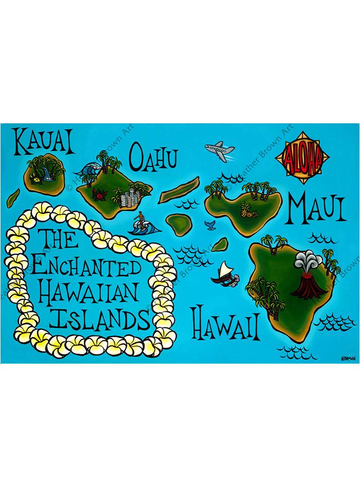 Hawai'i Map
