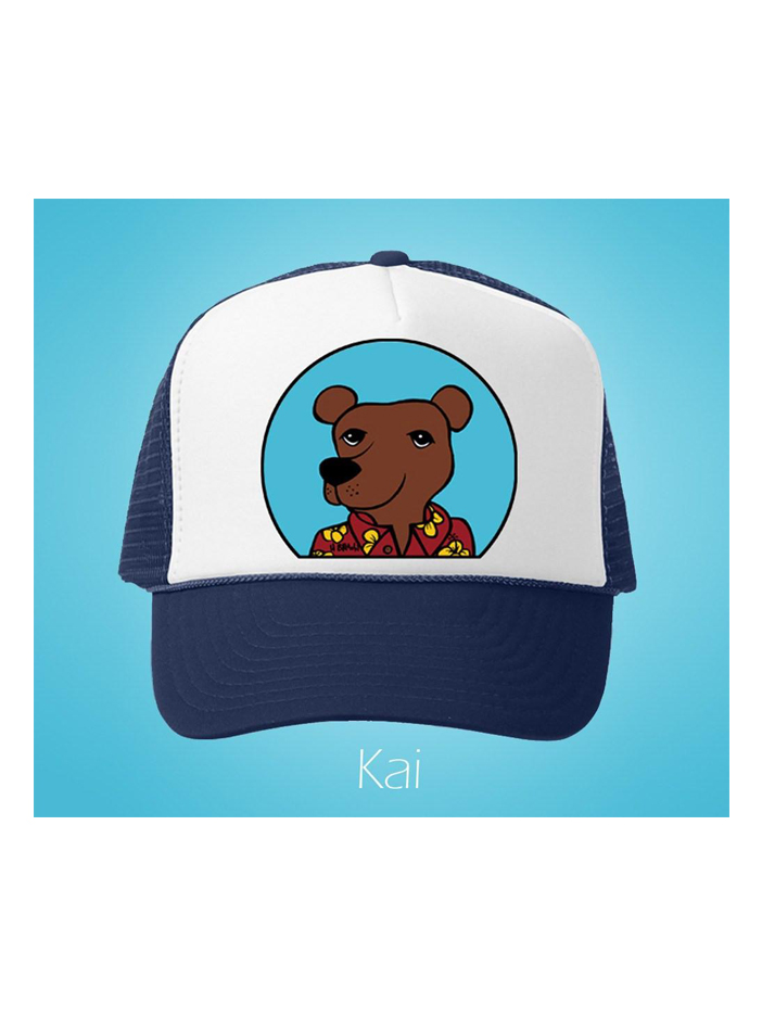 Kai Trucker Hat – Aloha Shirt Pets Series